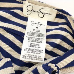 Jessica Simpson Swim - Jessica Simpson Sweet Sailor Swim Top • Size M